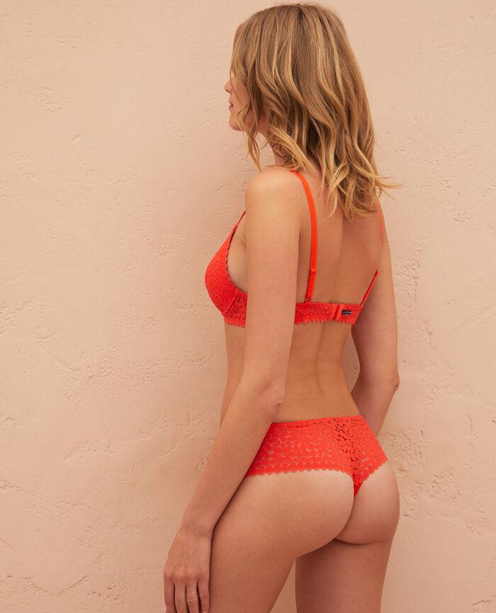 Shorty brésilien Orange sanguine Monica