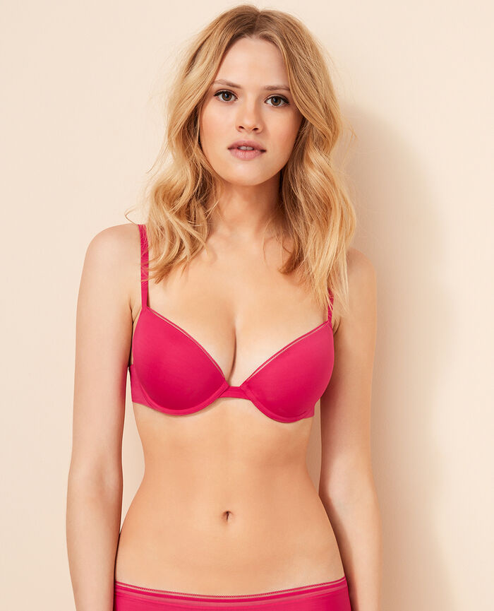 Contour push-up bra Bling pink Make up