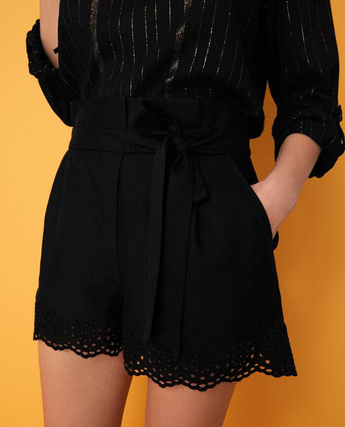 Shorts Black Loulou