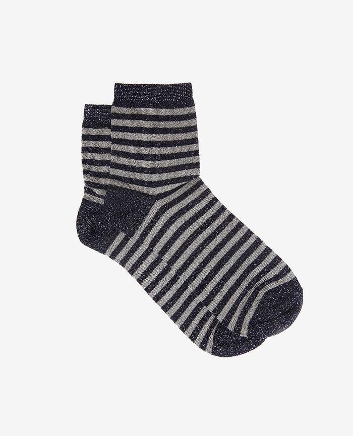 Socks Blue stripes Diamond