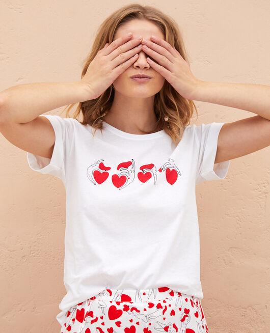 Short-sleeved t-shirt A la folie white A la folie