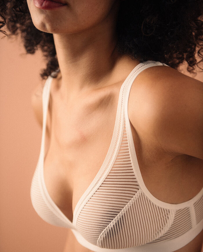 Soft cup bra Ivory Horizon - the feel good