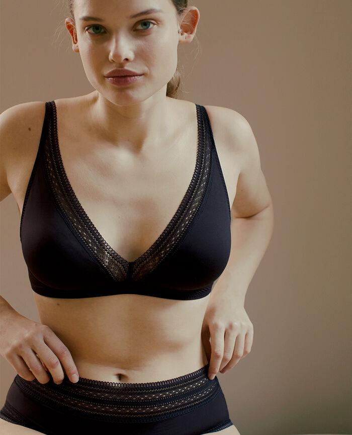 Wireless bra Black Eclat - the feel good