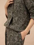 Pantalon de pyjama Azalee vert Pictural