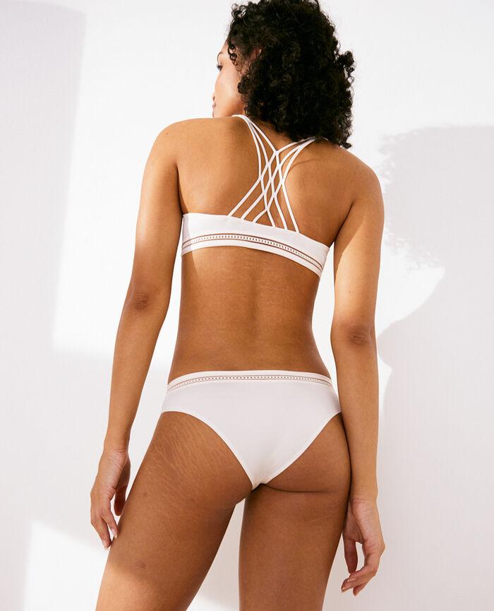 Soutien-gorge sans armatures Blanc rosé Air lingerie