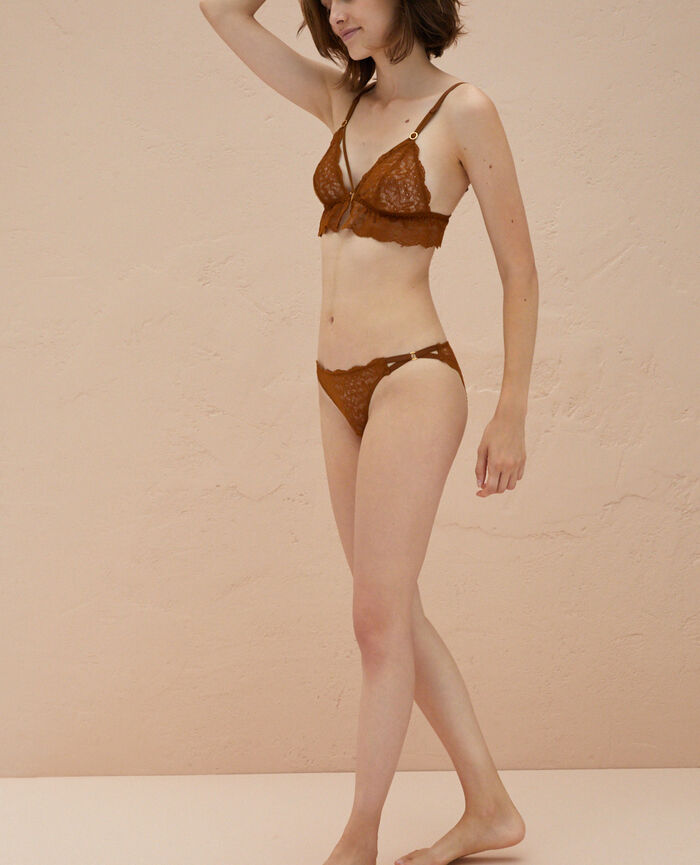 Culotte taille basse Bronze Muse