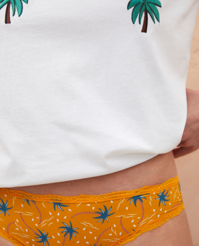 Hipster briefs Palmit tree yellow sahara Take away