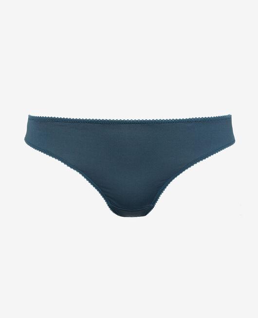 Culotte taille basse Gris graphite Air lingerie