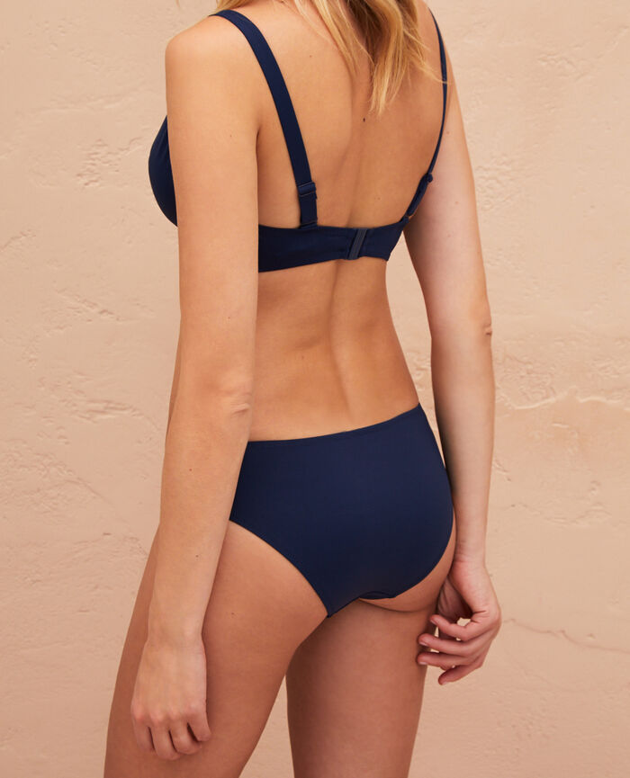 Underwired triangle bikini top Midnight blue Impala
