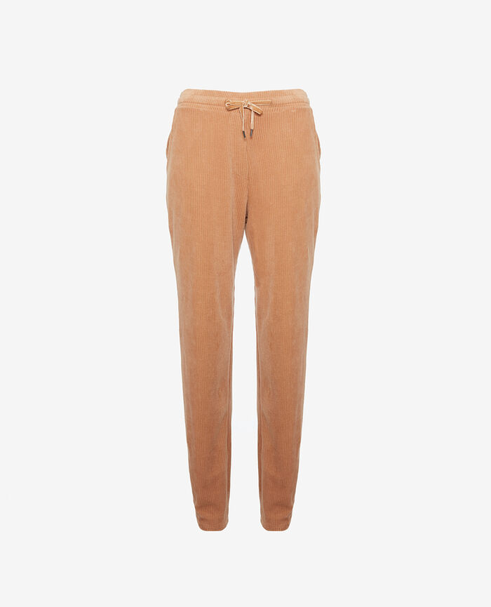 Trousers Beige camel Allure