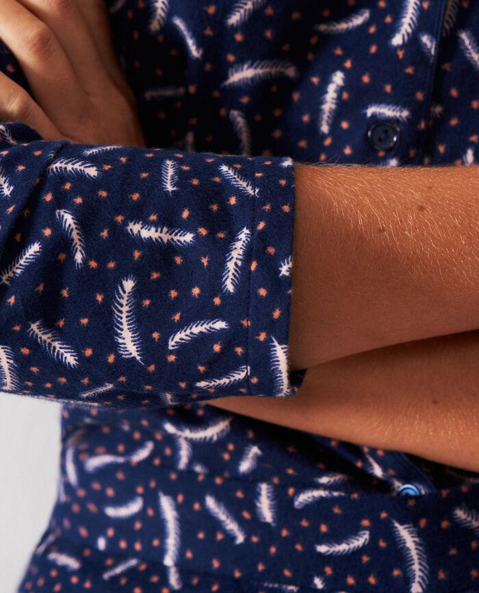 Pyjama set Navy feather Dodo