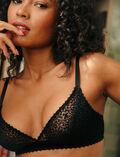 Soft cup bra Black Velvet