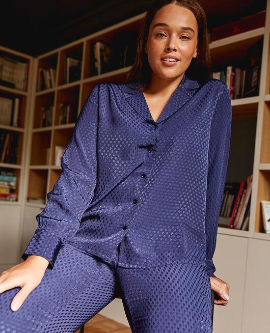 Veste de pyjama Bleu marine Boudoir