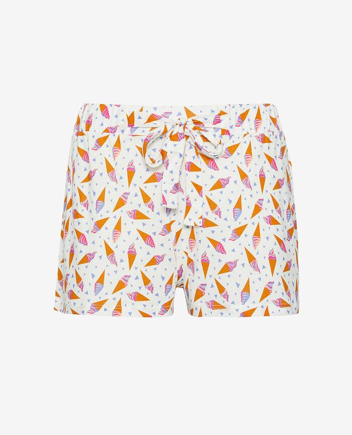 Short de pyjama Glace ivoire Tamtam shaker
