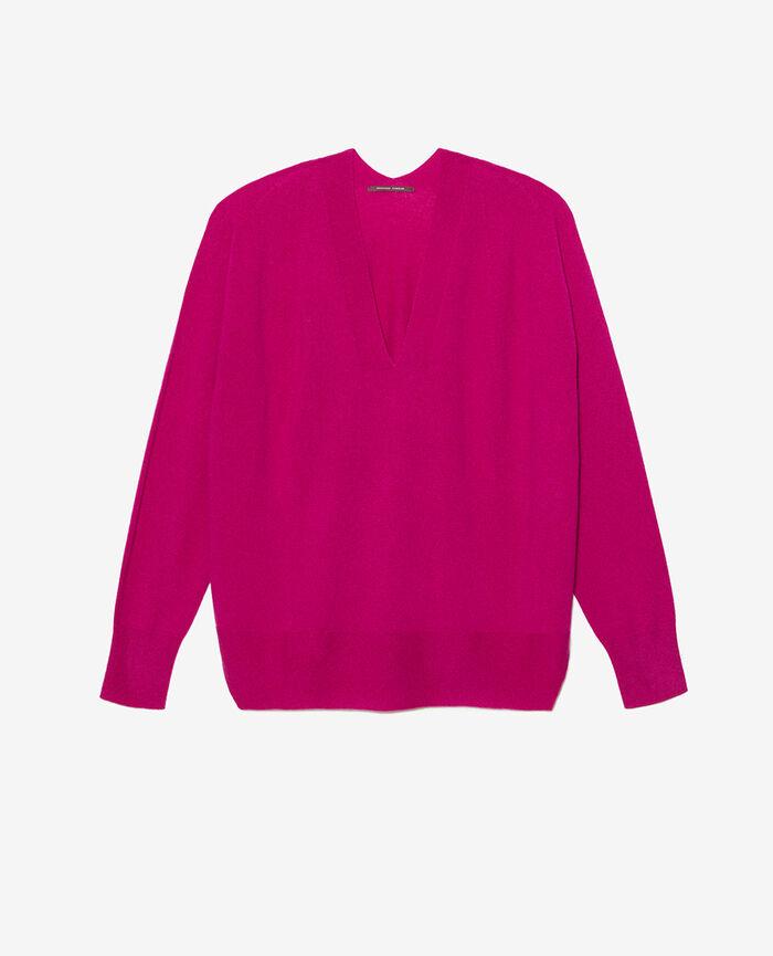V-neck jumper Crocus purple Cosy