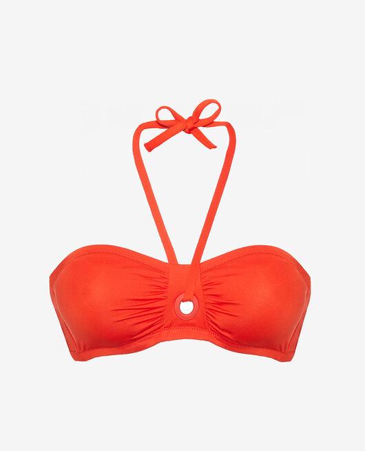 Strapless bikini top Pamela red Impala