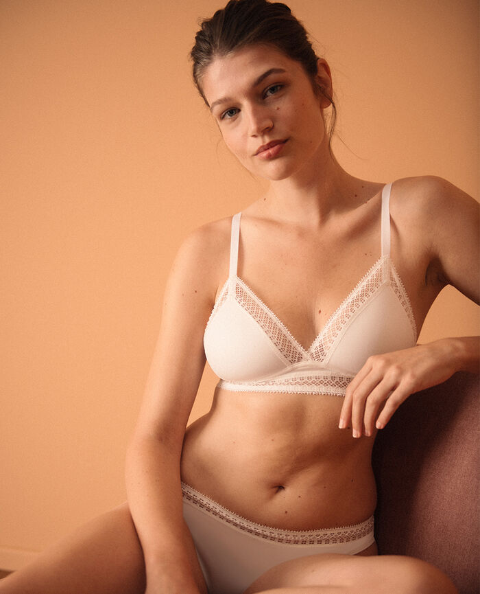 Soft cup bra Ivory Eclat - the be cool