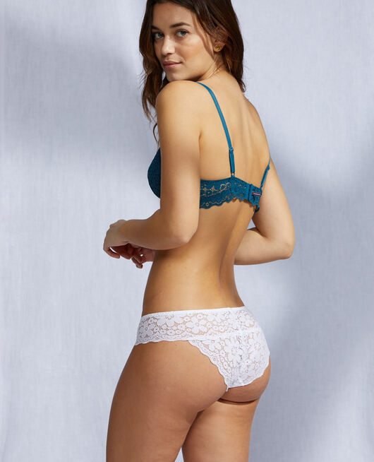High-cut briefs White Paquerette