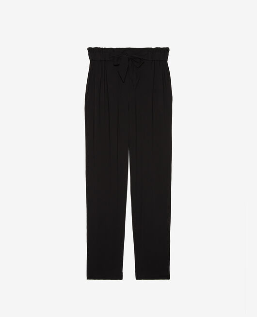 Carrot pants Black Pimpant