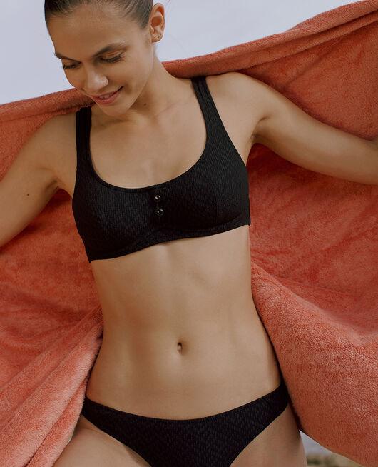 Underwired bikini top Black Allure