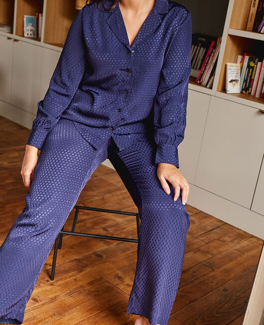 Trousers Navy Boudoir