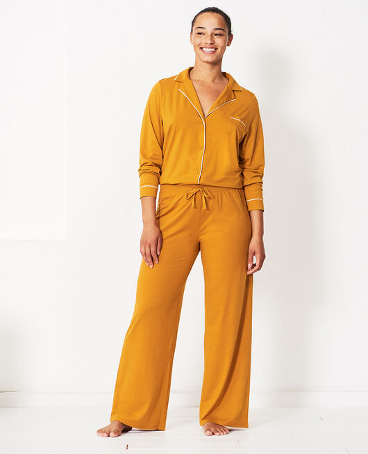 Trousers Cumin yellow Dimanche