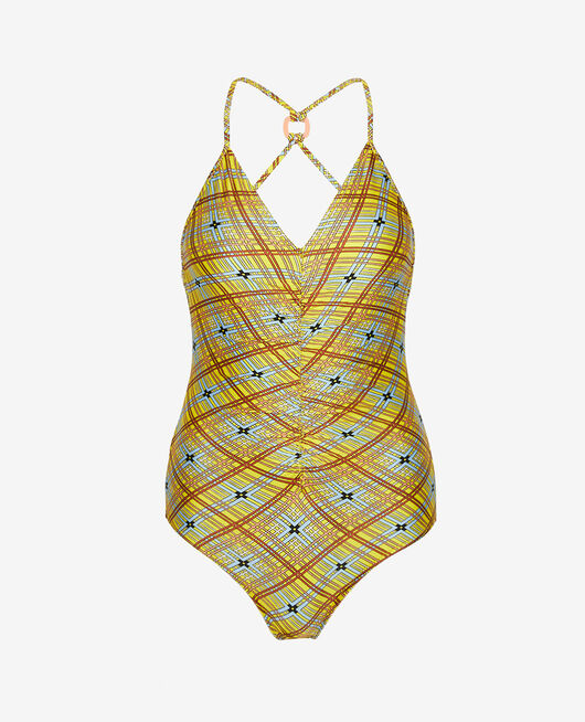 Swimsuit Scarf yellow Vacanze