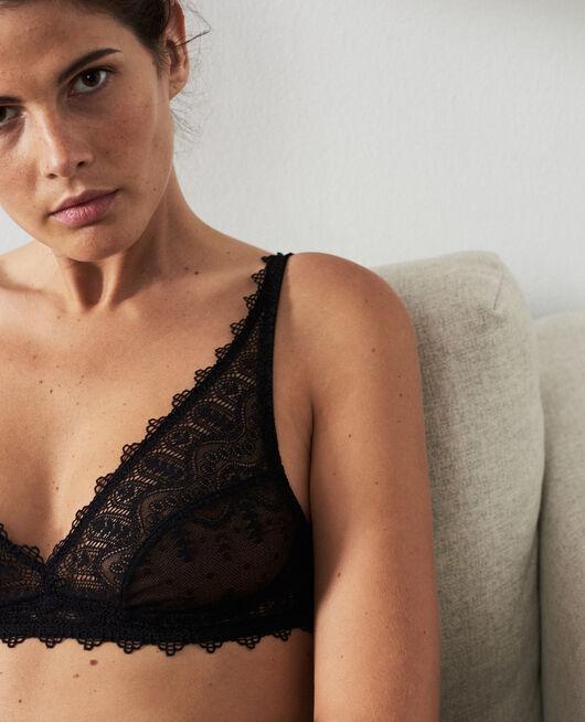 Soft cup bra Black Amour