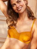 Half-cup bra Cumin yellow Simone