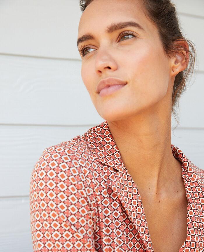Pyjama jacket Mosaic Dimanche