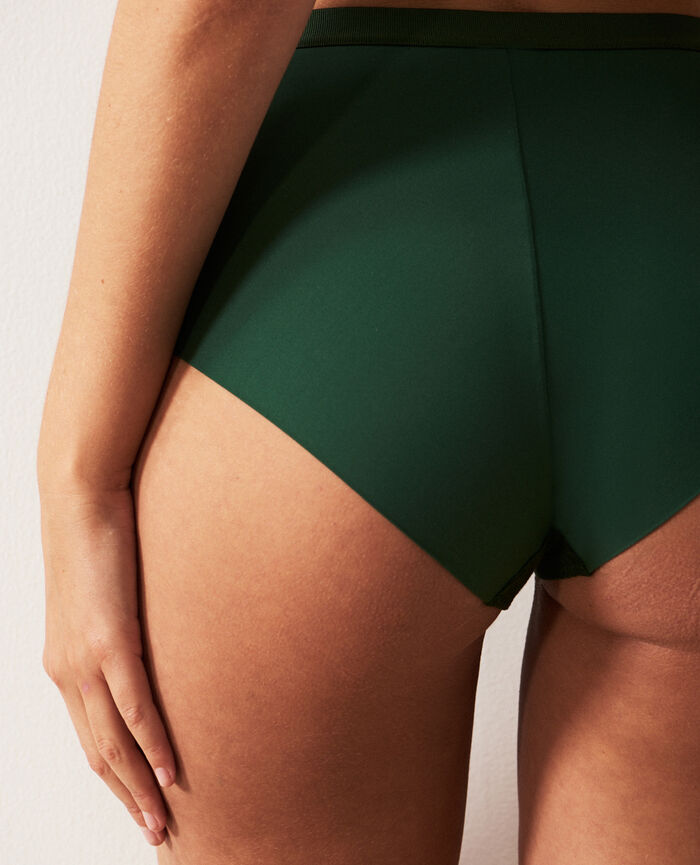 High-waisted briefs Cypress green Horizon