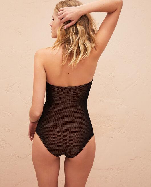 Bustier swimsuit Black Jawahra