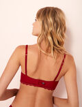 Bustier bra Goji red Love
