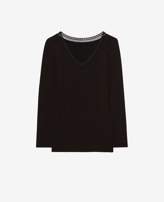 Long-sleeved t-shirt Black Extra heattech