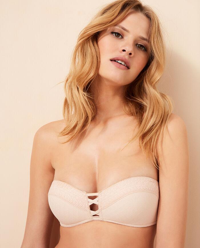 Contour strapless bra Tan pink Freedom