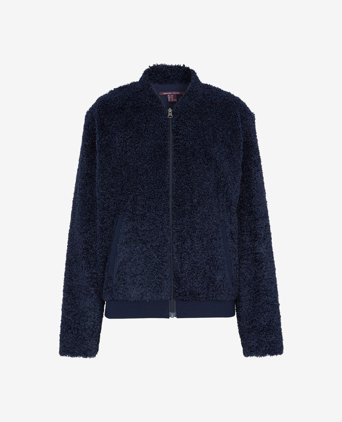 Jacket Abyss blue Fluffy