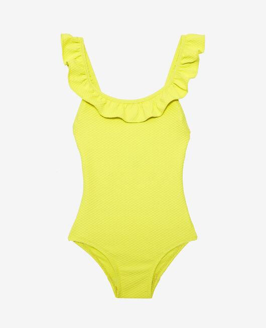 Kid swimsuit Lime yellow Phoebe