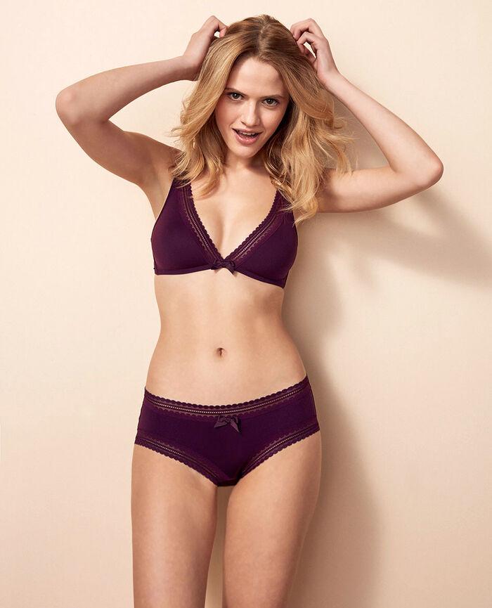 Shorts Ethnic purple Beaute