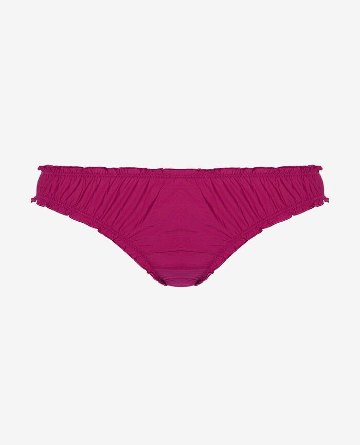 Ruffle brief Crocus purple Take away