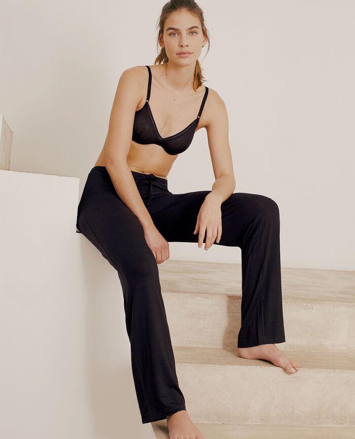 Trousers Black Douceur