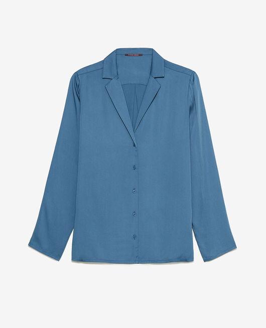 Pyjama jacket Storm blue Attitude