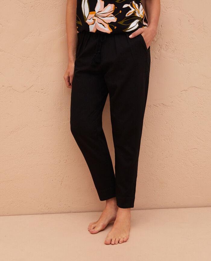 Pantalon Noir Medina
