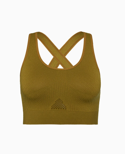 Sports bra light support Green bowie Yoga
