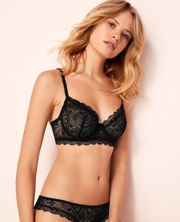 Bustier bra Black Love