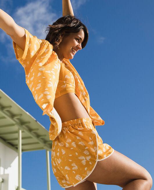 Pyjama shorts Hammam yellow Bahia