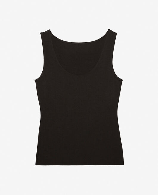 Vest top Black Inner heattech