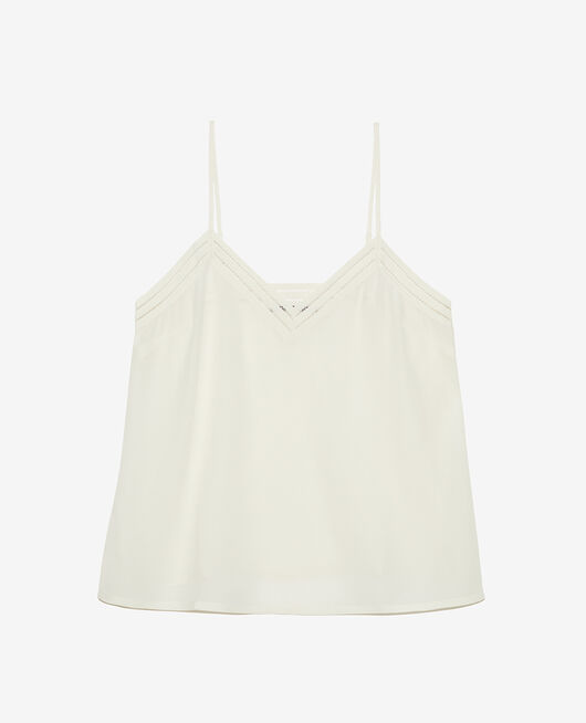 Cami Cream white Caresse
