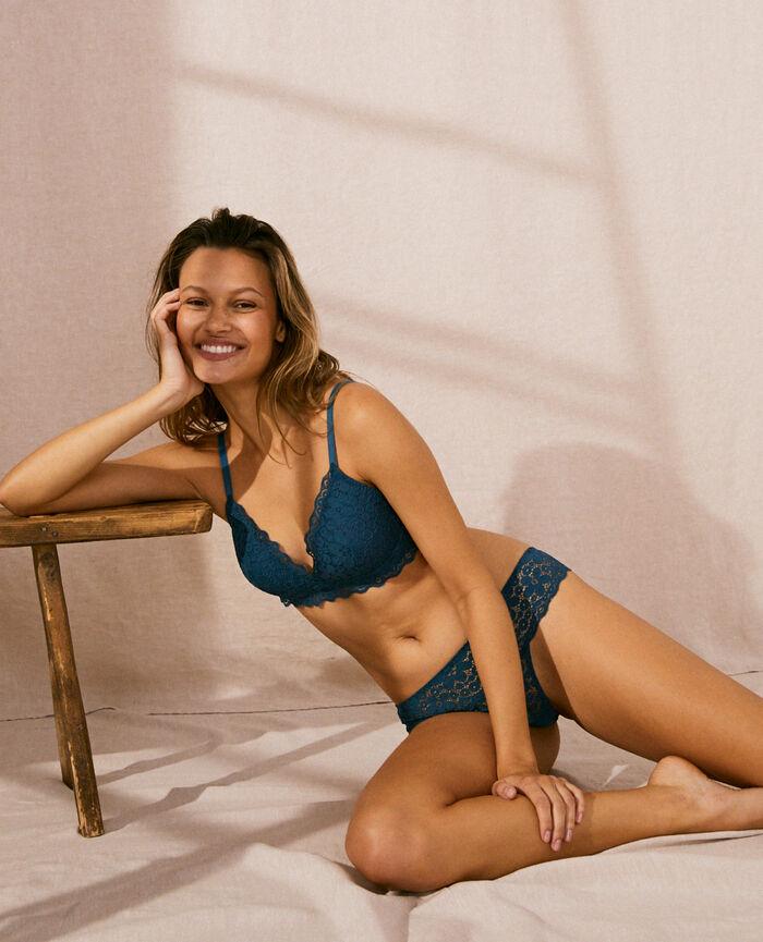 High-cut briefs Sombrero blue Paquerette