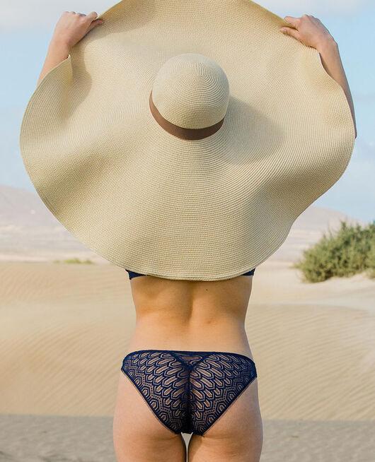 Culotte taille basse Bleu marine Candeur
