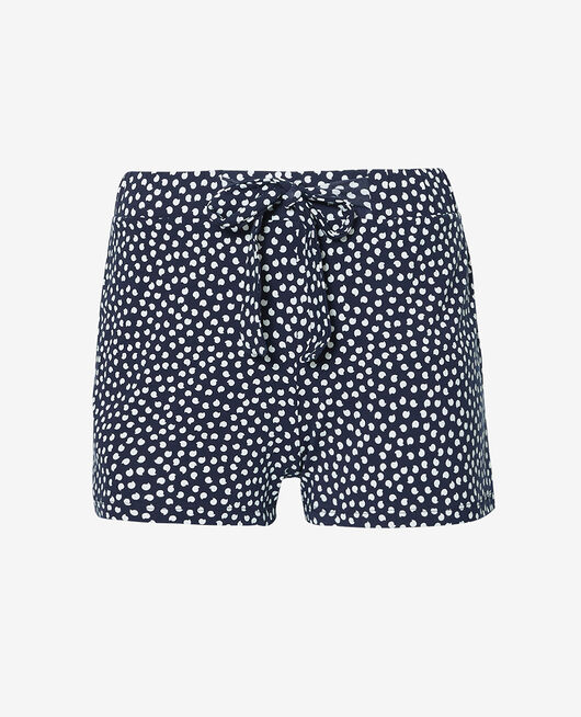 Pyjama shorts Blue polka dots Echo